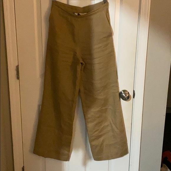 Talbots Pants - Talbots size 4 100% linen pants